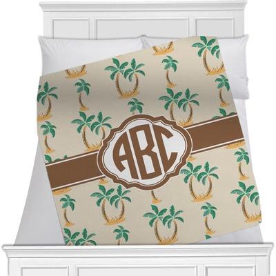 Palm Trees Fleece Blanket - Queen / King - 90