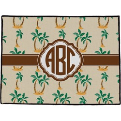 Palm Trees Door Mat (Personalized)