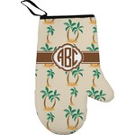 Palm Trees Right Oven Mitt (Personalized)