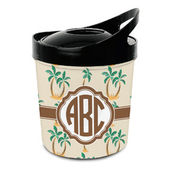 Palm Trees Plastic Ice Bucket (Personalized)