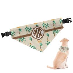 Palm Trees Dog Bandana (Personalized)