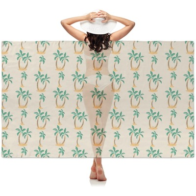 Palm Trees Sheer Sarong (Personalized)
