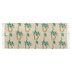Palm Trees Faux Pashmina Scarf (Personalized)