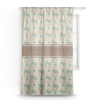 Palm Trees Sheer Curtains (Personalized)