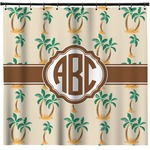 Palm Trees Shower Curtain (Personalized)