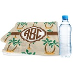 Palm Trees Sports & Fitness Towel (Personalized)