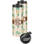 Palm Trees Stainless Steel Skinny Tumbler (Personalized)
