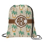 Palm Trees Drawstring Backpack (Personalized)