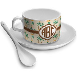 Palm Trees Tea Cups (Personalized)