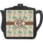 Palm Trees Teapot Trivet (Personalized)