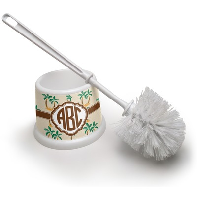 Palm Trees Toilet Brush (Personalized)