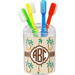Palm Trees Toothbrush Holder (Personalized)
