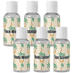 Palm Trees Travel Bottles (Personalized)