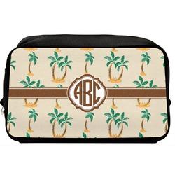 Palm Trees Toiletry Bag / Dopp Kit (Personalized)