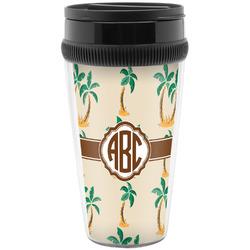 Palm Trees Travel Mug (Personalized)