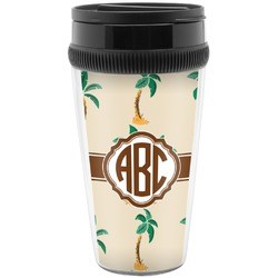 Palm Trees Travel Mugs (Personalized)