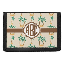 Palm Trees Trifold Wallet (Personalized)