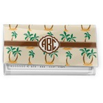 Palm Trees Vinyl Checkbook Cover (Personalized)