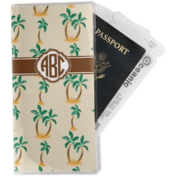 Palm Trees Travel Document Holder