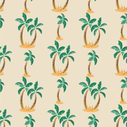 Palm Trees Wallpaper & Surface Covering