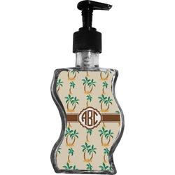 Palm Trees Wave Bottle Soap / Lotion Dispenser (Personalized)