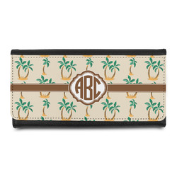 Palm Trees Leatherette Ladies Wallet (Personalized)
