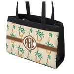 Palm Trees Zippered Everyday Tote (Personalized)