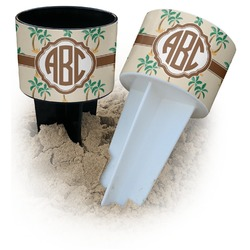 Palm Trees Beach Spiker Drink Holder (Personalized)