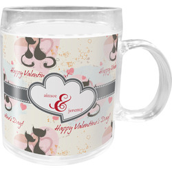 Cats in Love Acrylic Kids Mug (Personalized)
