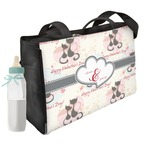 Cats in Love Diaper Bag w/ Couple's Names