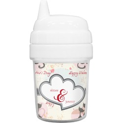 Cats in Love Baby Sippy Cup (Personalized)
