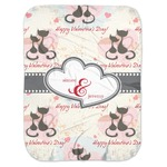 Cats in Love Baby Swaddling Blanket (Personalized)