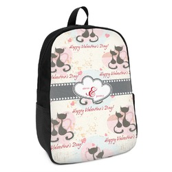 Cats in Love Kids Backpack (Personalized)