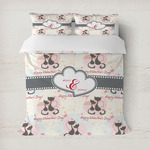 Cats in Love Duvet Cover (Personalized)