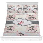 Cats in Love Comforters (Personalized)