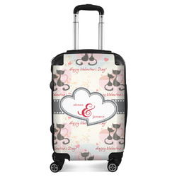 Cats in Love Suitcase (Personalized)