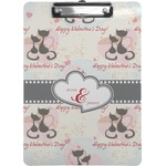 Cats in Love Clipboard (Personalized)