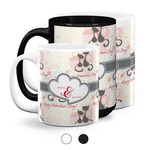 Cats in Love Coffee Mugs (Personalized)