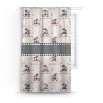 Cats in Love Curtain (Personalized)