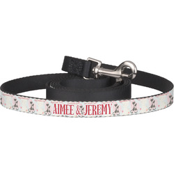 Cats in Love Dog Leash (Personalized)