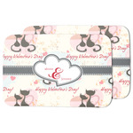 Cats in Love Dish Drying Mat (Personalized)