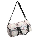 Cats in Love Duffel Bag (Personalized)