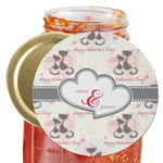 Cats in Love Jar Opener (Personalized)