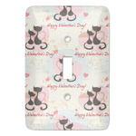Cats in Love Light Switch Covers (Personalized)