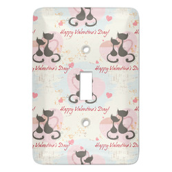 Cats in Love Light Switch Covers - Multiple Toggle Options Available (Personalized)