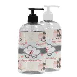 Cats in Love Plastic Soap / Lotion Dispenser (Personalized)