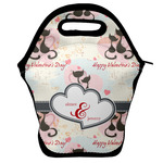 Cats in Love Lunch Bag w/ Couple's Names