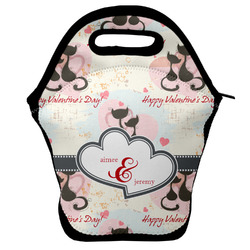 Cats in Love Lunch Bag (Personalized)