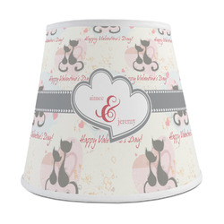 Cats in Love Empire Lamp Shade (Personalized)