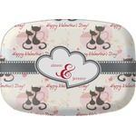 Cats in Love Melamine Platter (Personalized)